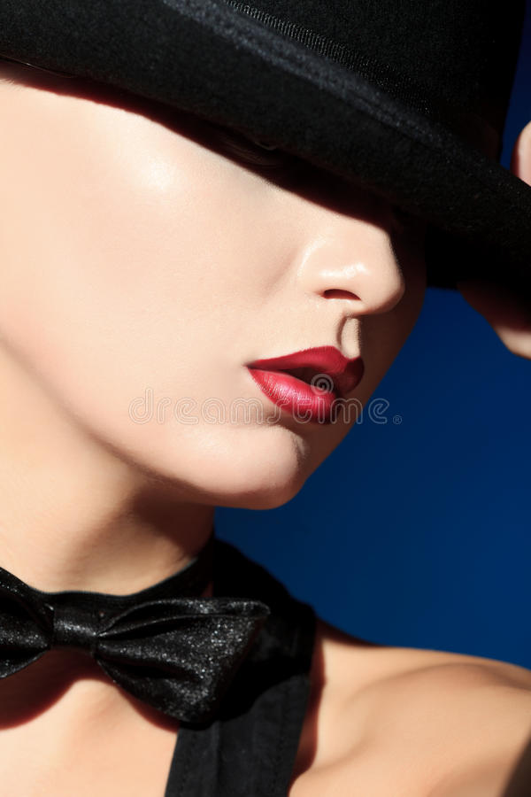 Download Graceful stock photo. Image of model, attractive, lips - 26713504