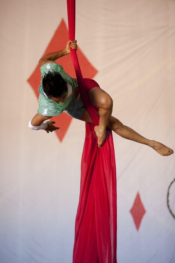 Download Graceful Acrobat stock image. Image of risk, shape, entertainer - 20413473