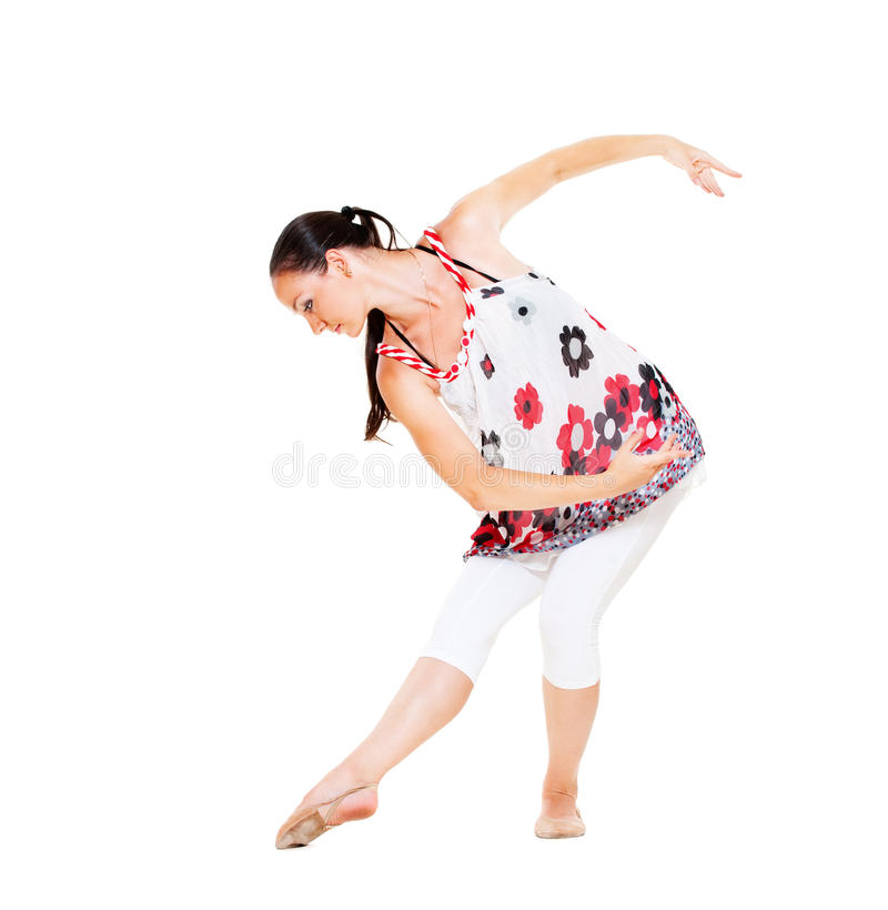 Download Graceful Dancer Royalty Free Stock Image - Image: 20969266