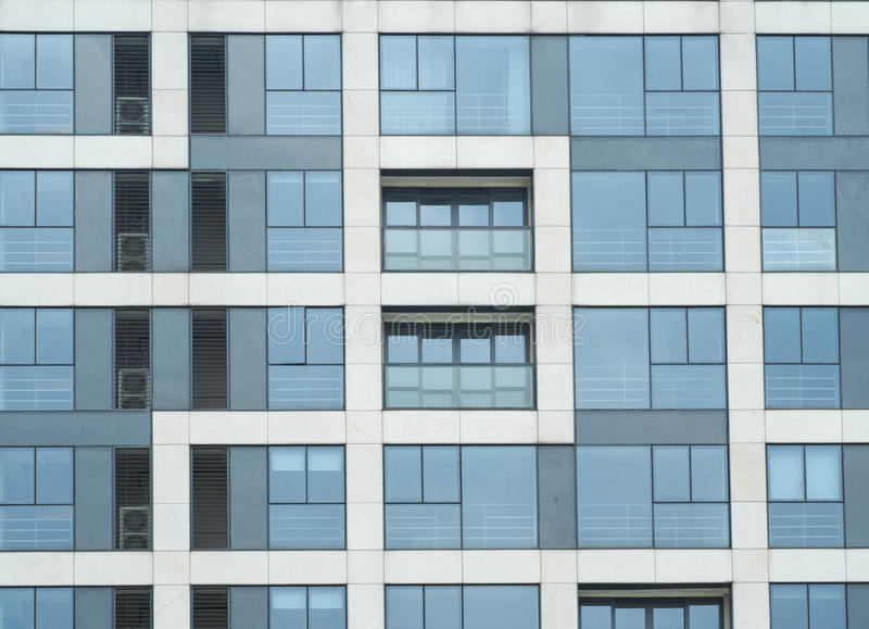 Download Graceful Designs Of Residential Buildings Windows Stock Photo - Image: 25518410