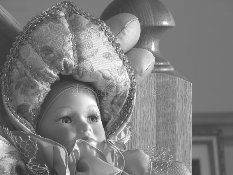 Graceful Doll royalty free stock image