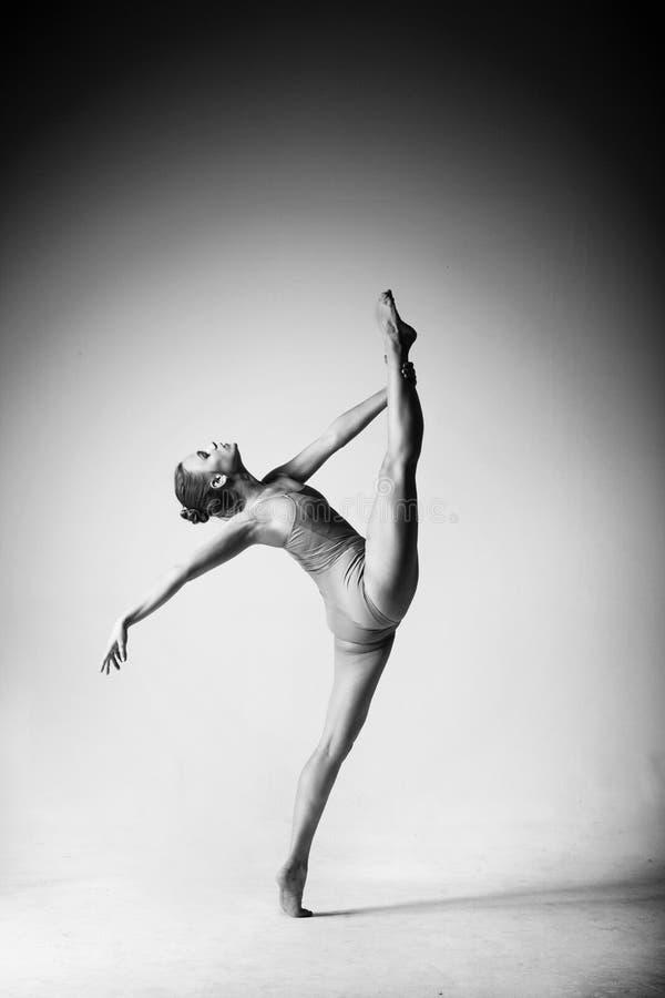 Graceful gymnast royalty free stock photo