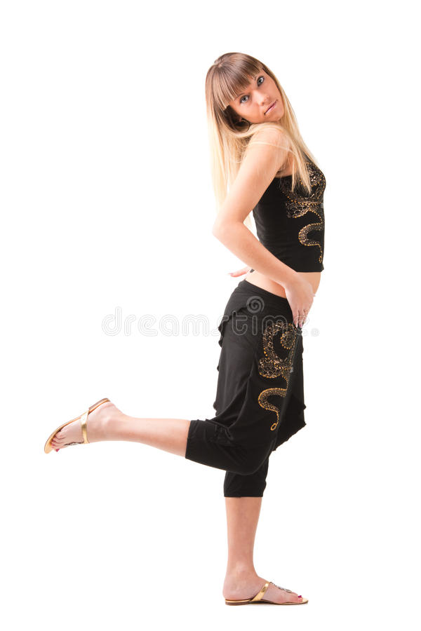 Download Graceful standing stock image. Image of individuality - 16430633