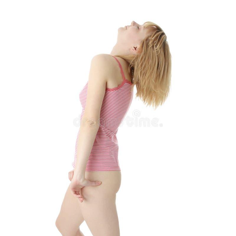 Download Graceful woman posing stock image. Image of people, joyful - 12360719