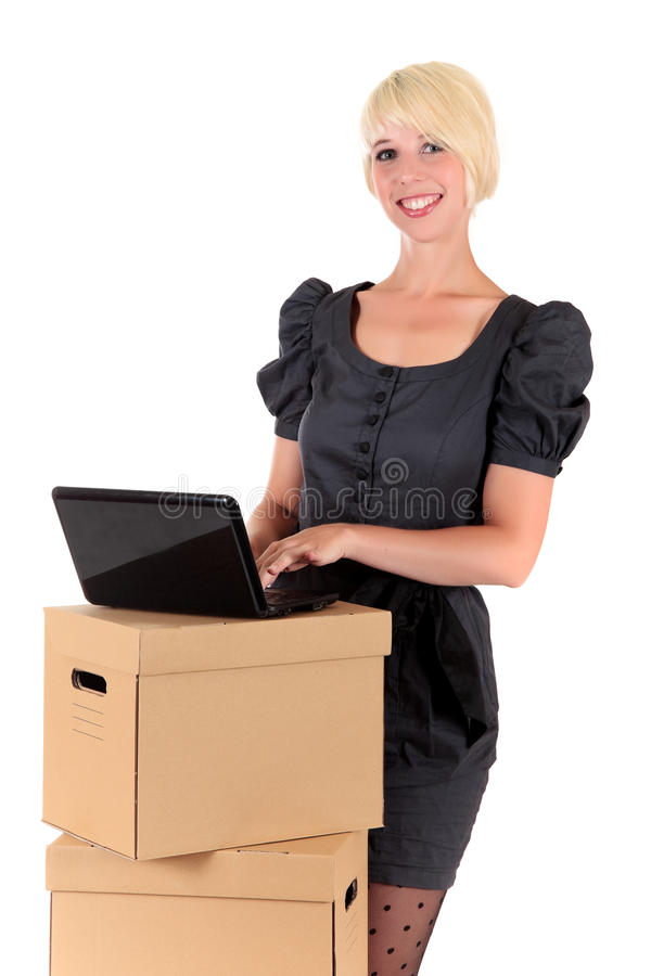 Download Graceful Young Businesswoman Stock Image - Image: 16136163
