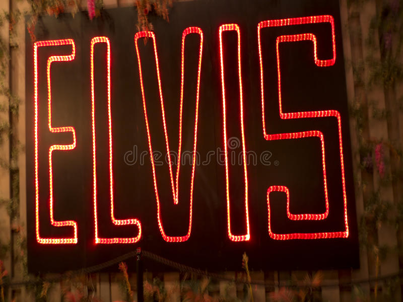 Graceland is the home of Singer Elvis Presley in style of an antebellum mansion and a magnet for music fans. Graceland is a mansion in Memphis, Tennessee and was royalty free stock photos