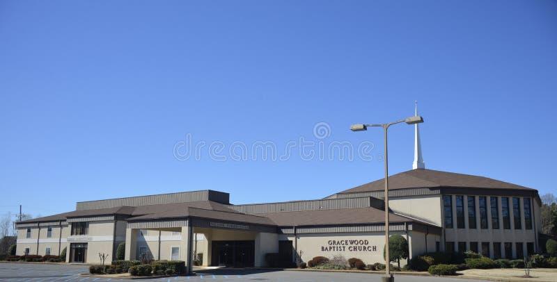 Gracewood施洗约翰教堂, Southaven,密西西比 免版税库存照片
