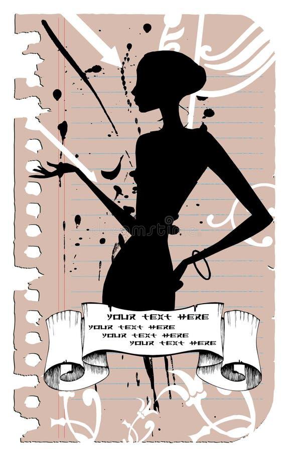 Gracia, mujer negra libre illustration