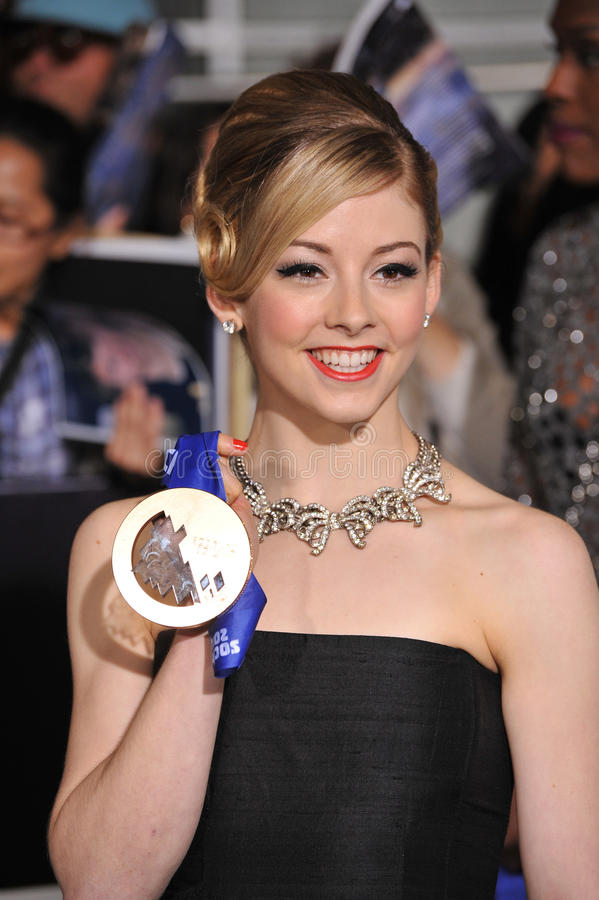 Gracie Gold photographie stock libre de droits