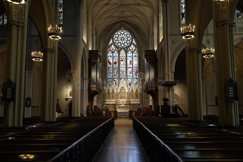 Gracja kościół, NYC obraz royalty free