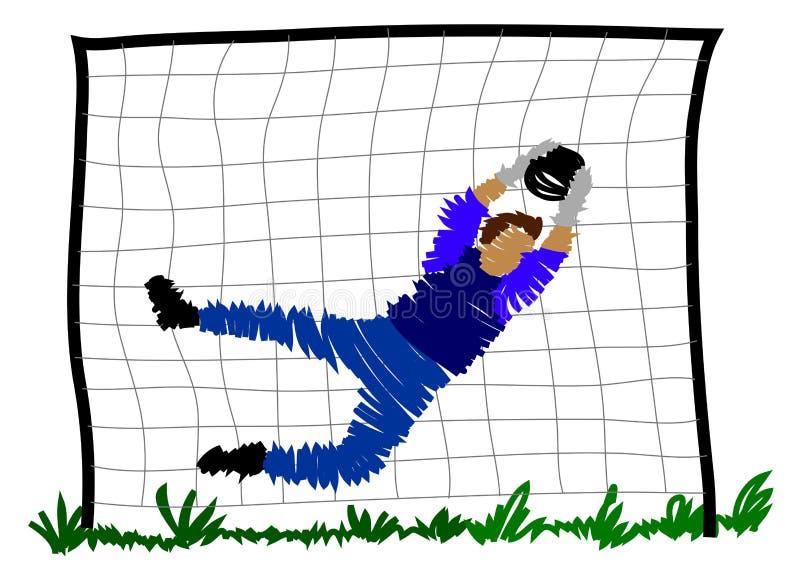 Download Gracz Abstrakcjonistyczna Piłka Nożna Ilustracji - Ilustracja złożonej z zwycięzca, trawy: 13336265