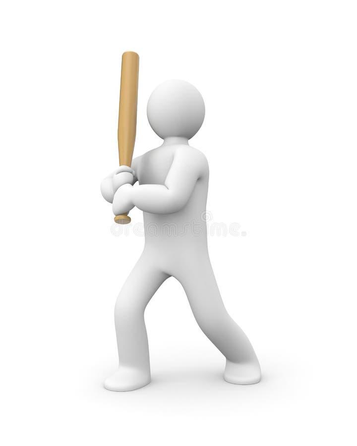 gracz baseballa ilustracji