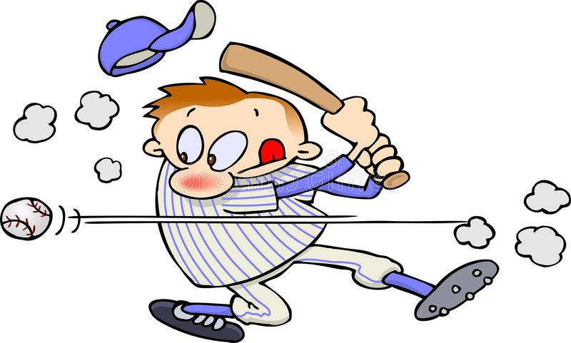 gracz baseballa ilustracja wektor
