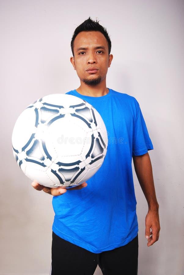 Gracz Futbolu Bezpłatna Fotografia Stock