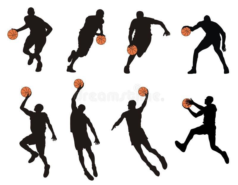 gracz koszykówki ilustracji