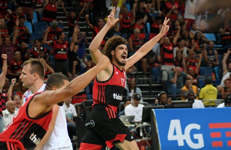 Gracz koszykówki Anderson Varejão zdjęcie stock