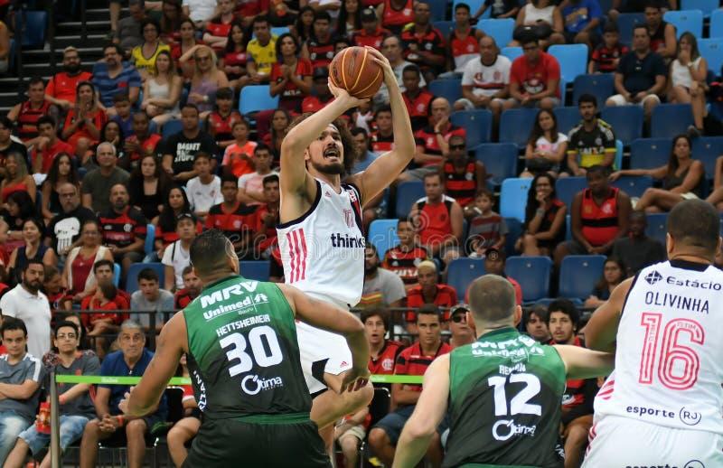Gracz koszykówki Anderson Varejão obrazy stock