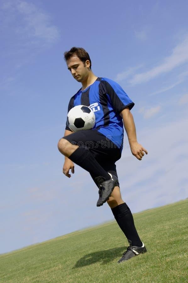 gracz kuglarska piłkę zdjęcia stock