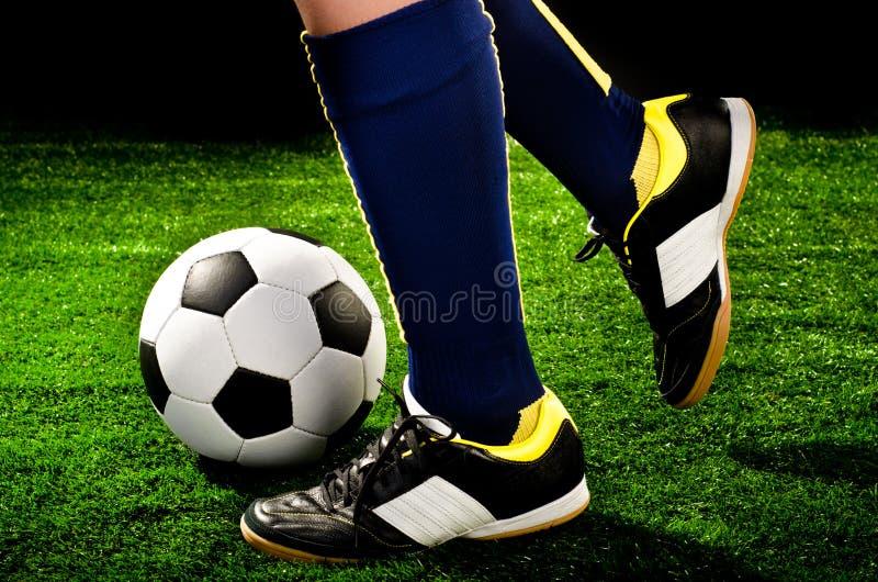 Gracz piłki nożnej obraz stock