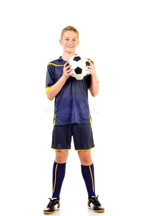 Gracz piłki nożnej obrazy stock