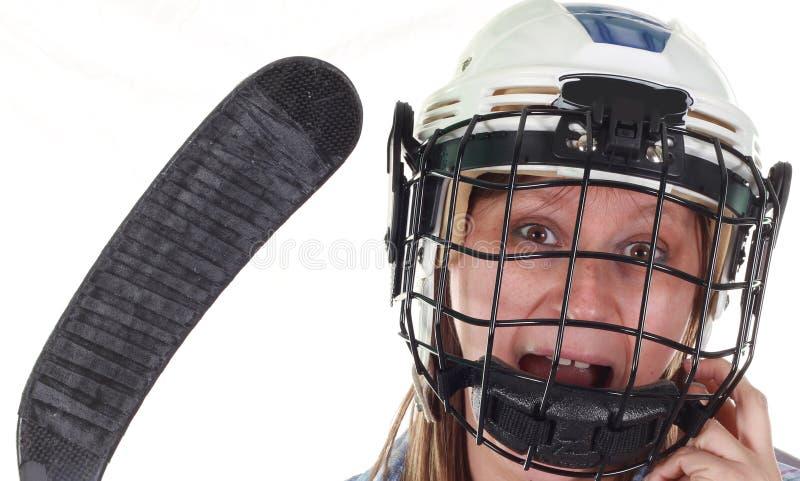 gracz w hokeja obrazy stock