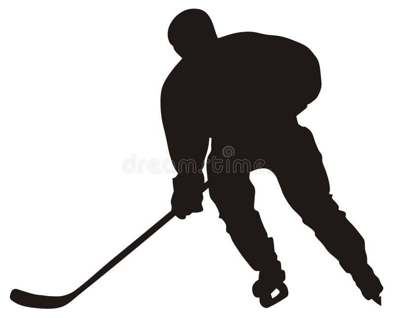 gracz w hokeja ilustracja wektor