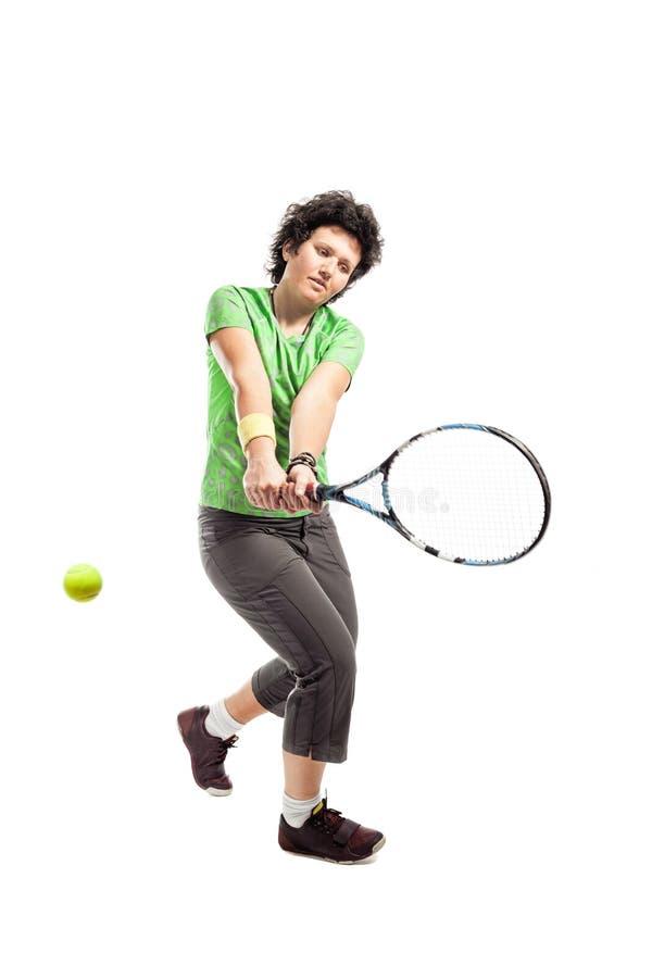 Gracz w tenisa obrazy stock