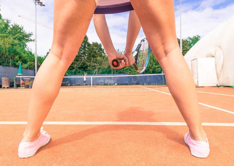 Gracz w tenisa fotografia stock