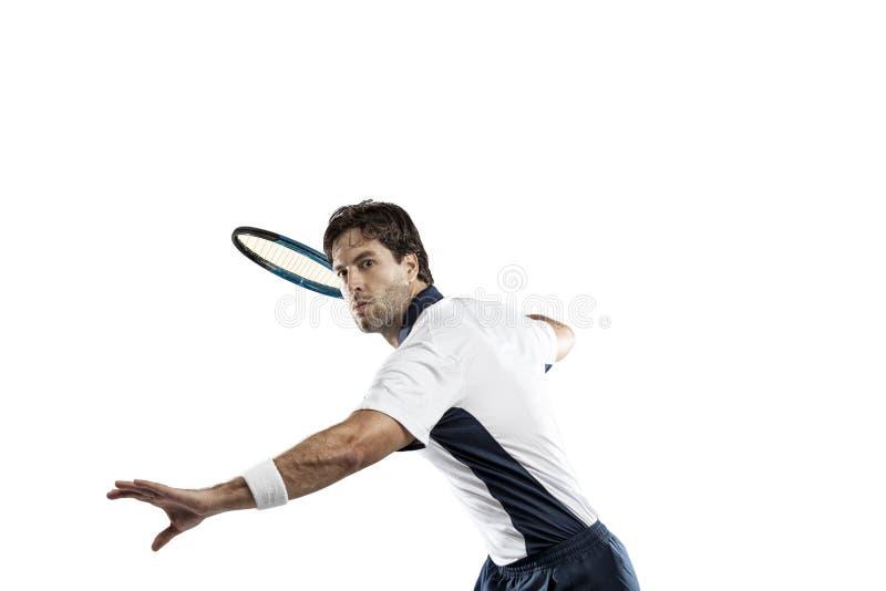 Gracz w tenisa obrazy royalty free