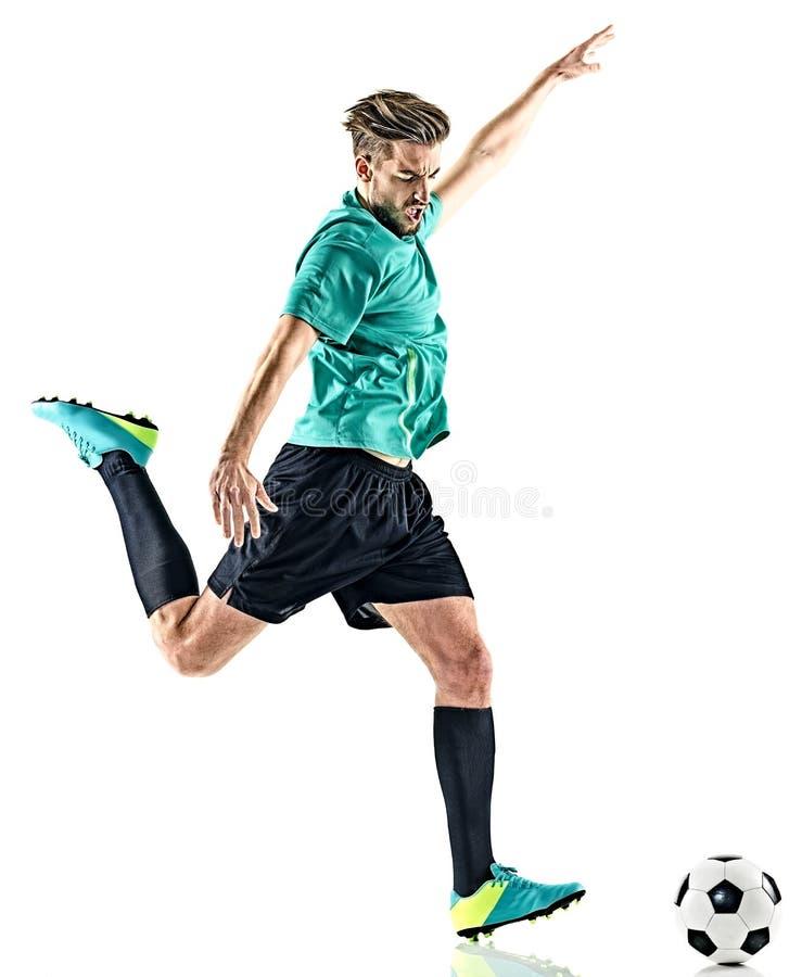 Gracza piłki nożnej mężczyzna obrazy stock