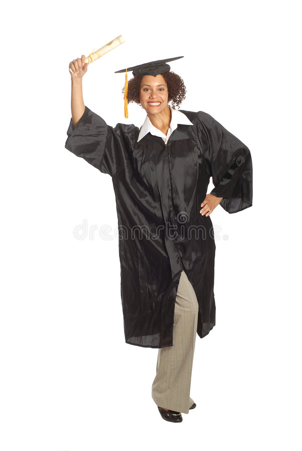 Download Grad day stock photo. Image of female, black, beautiful - 5372146