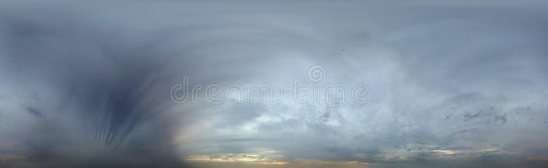 360-Grad-nahtloser Himmel lizenzfreies stockbild