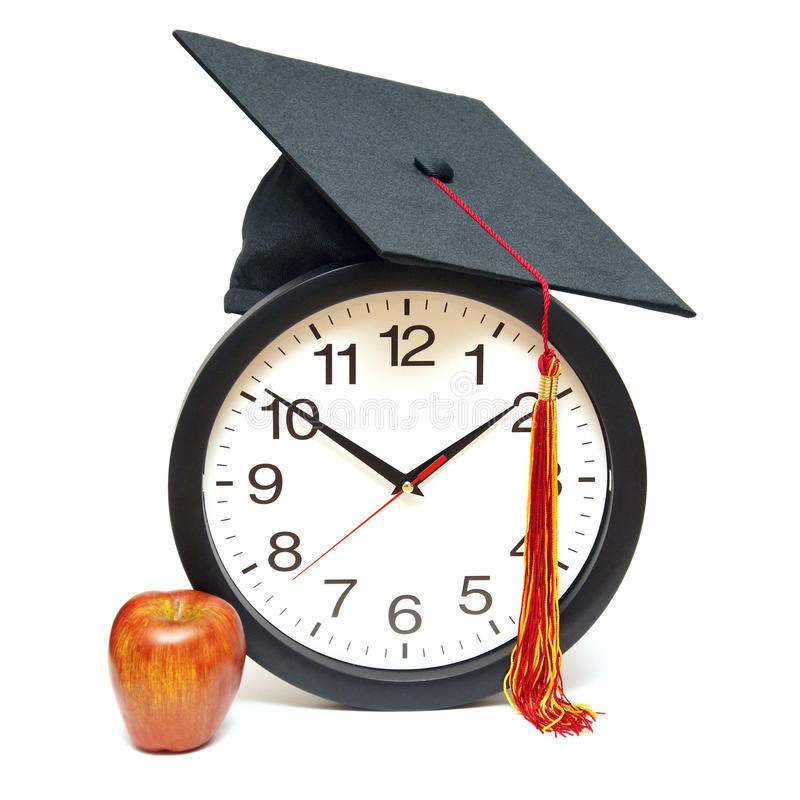 Download Grad Time stock photo. Image of concept, education, clock - 28540086