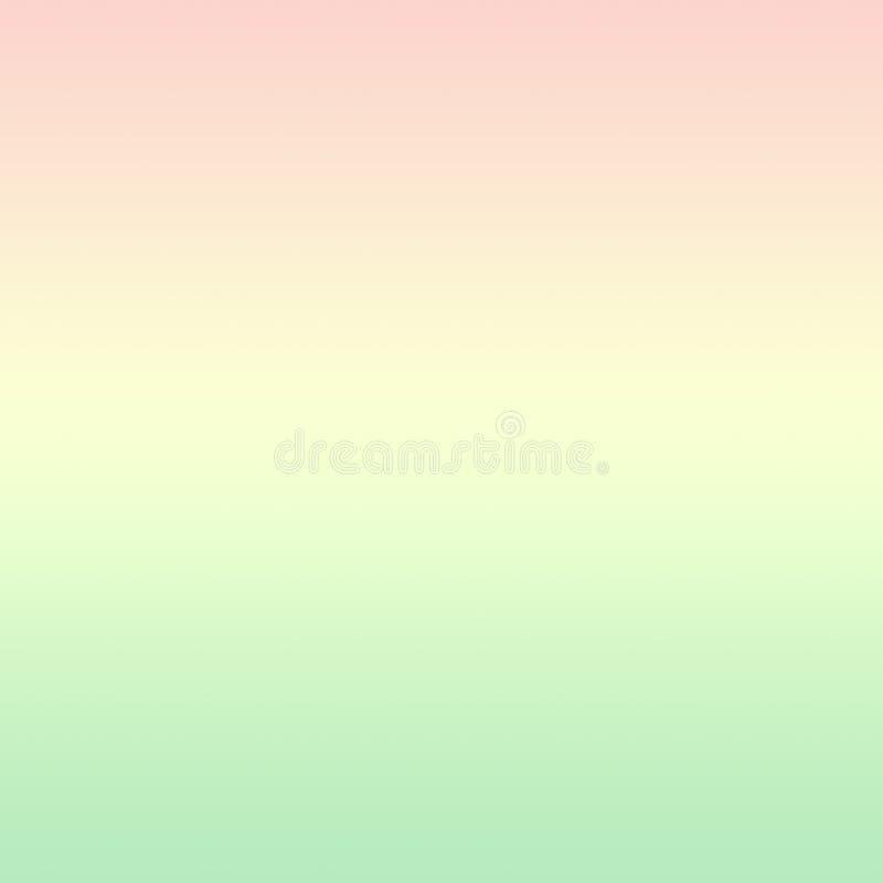 Gradação de Ombre Colorida Neo Mint Verde Geração Amarelo Cor-de-rosa Unicórnio Cinto de primavera foto de stock