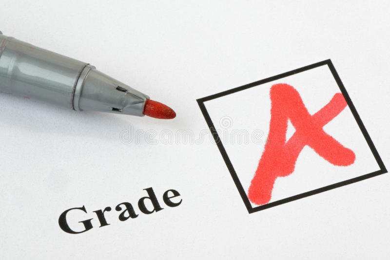 Download Grade A stock image. Image of correct, knowledge, good - 28029813