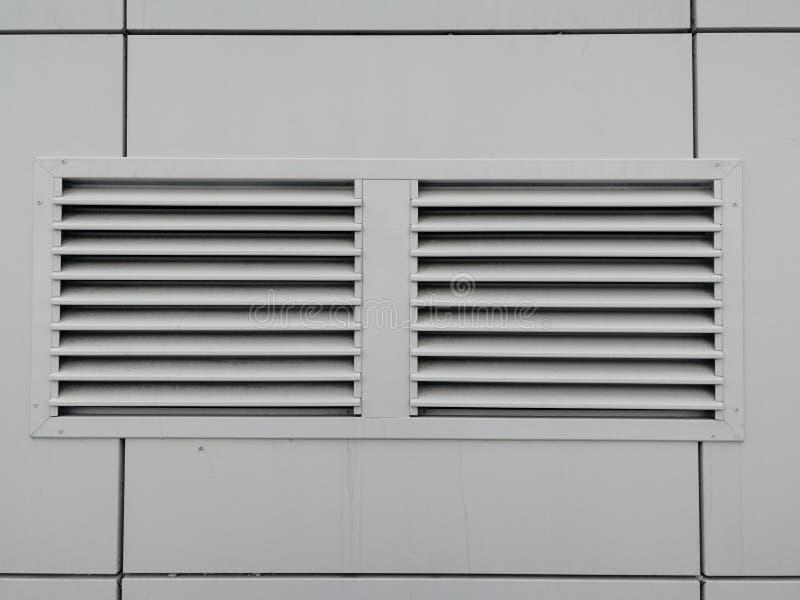 Grade cinzenta da ventilação Front View imagens de stock