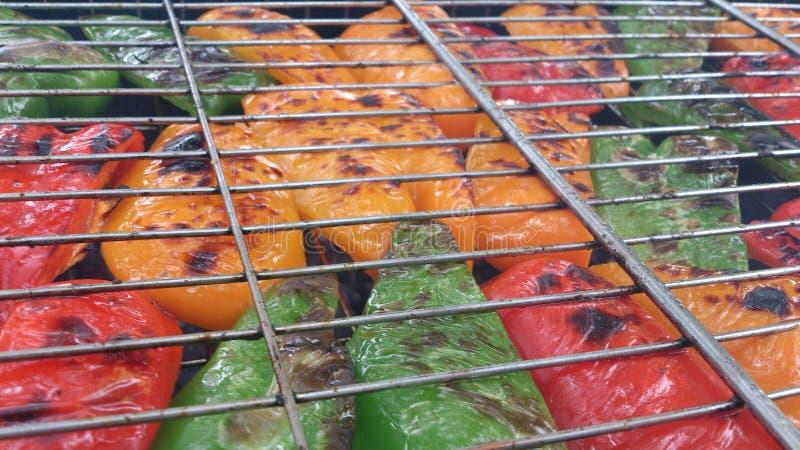 Grade da pimenta fotografia de stock