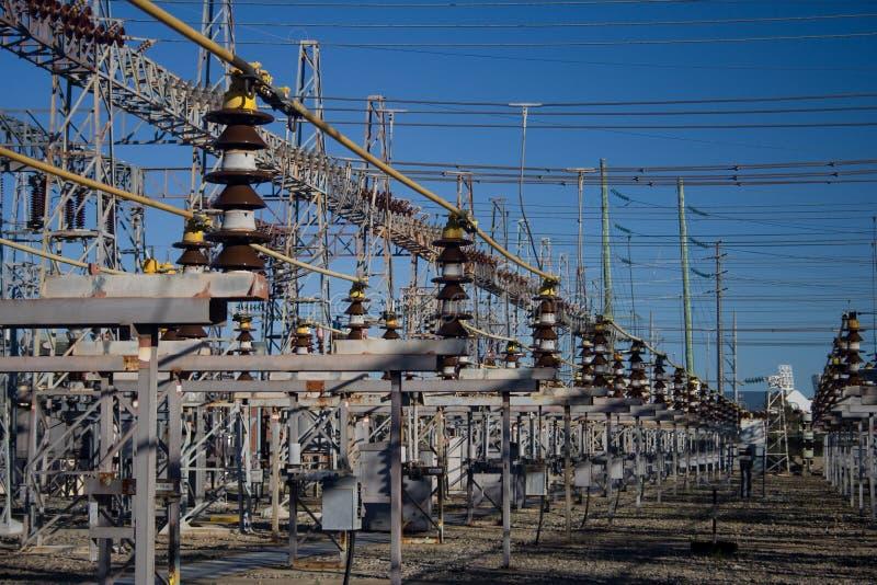 Grade de eletricidade imagem de stock royalty free