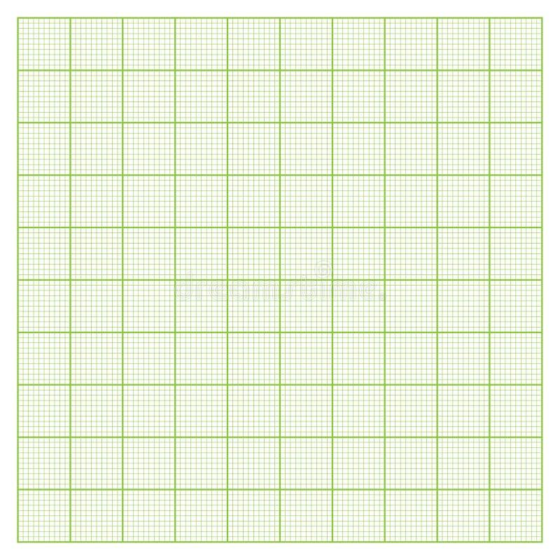 Grade de papel do milímetro ilustração royalty free