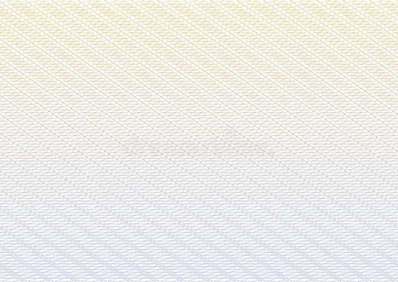 Grade do fundo do vetor do Guilloche para o projeto ilustração do vetor