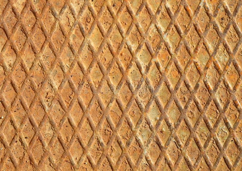 Grade do metal pesado e diamantes oxidados do ferro fotografia de stock