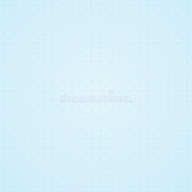 Grade em um fundo azul Eps 10 ilustração do vetor