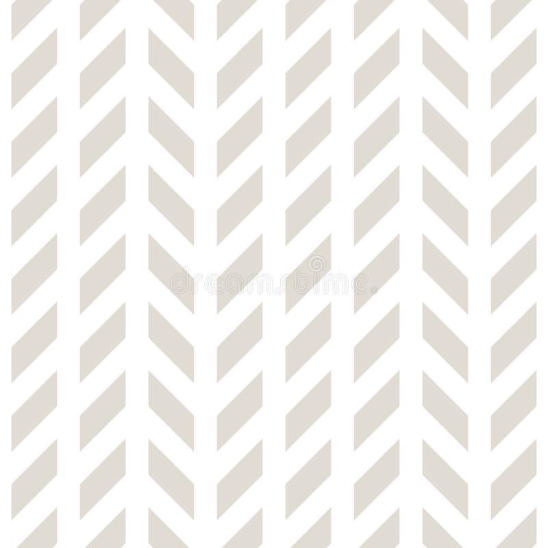 Grade geométrica abstrata Teste padrão mínimo preto e branco da cópia do projeto gráfico ilustração stock