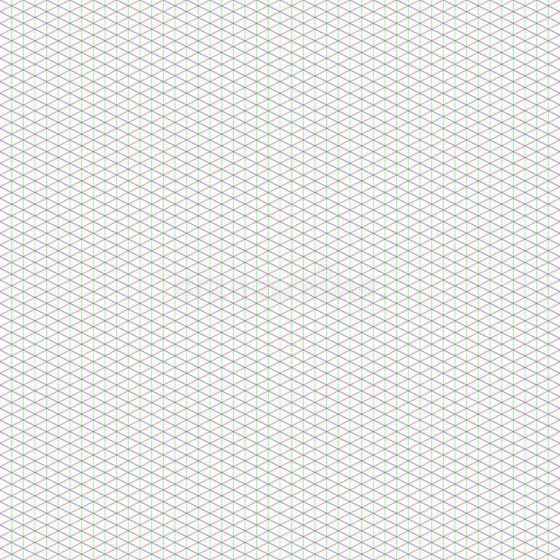 Grade isométrica média do 2:1 para a arte do pixel foto de stock royalty free