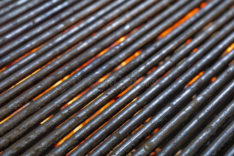 Grade quente do assado do carvão vegetal imagem de stock