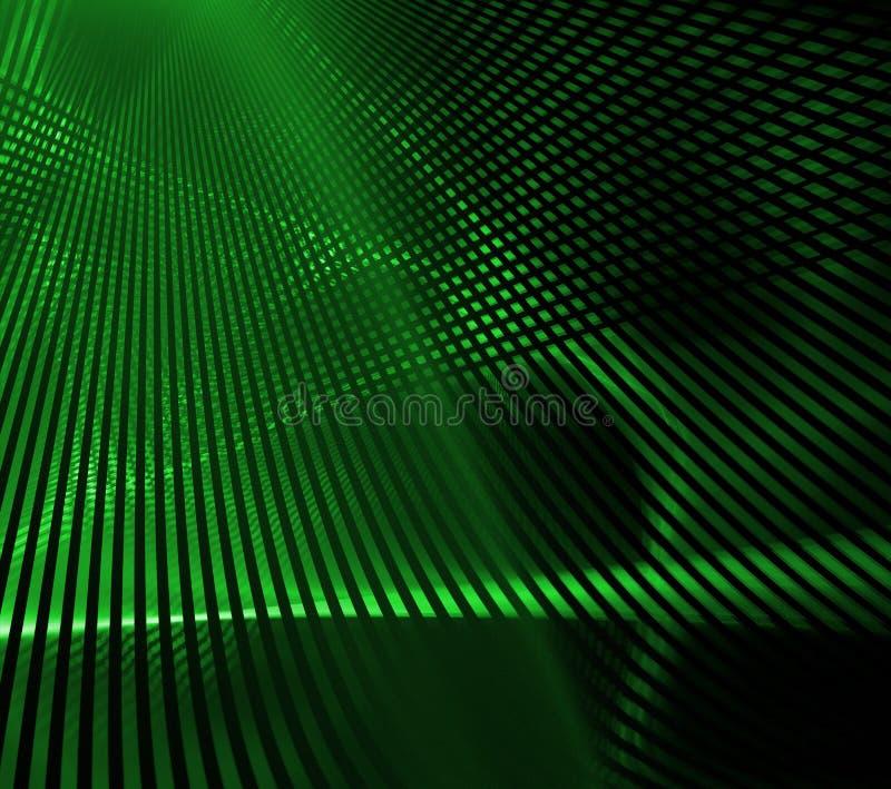 Grade verde ilustração stock