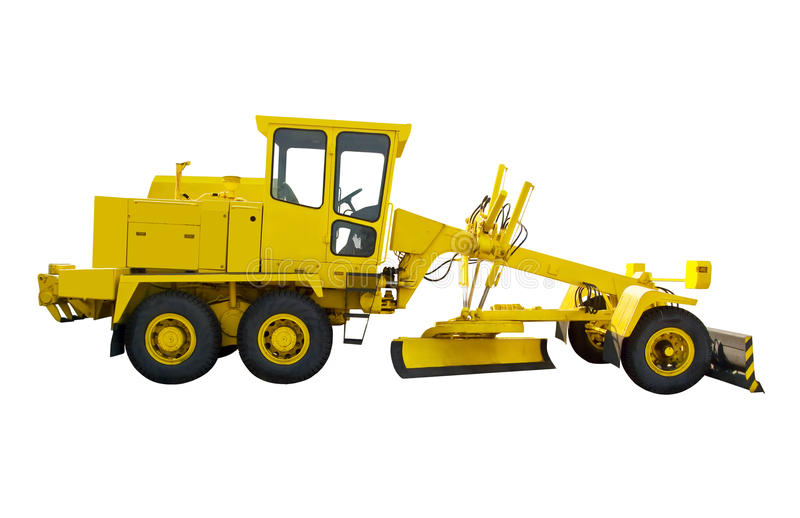 Download Grader stock image. Image of commercial, equipment, building - 19492375
