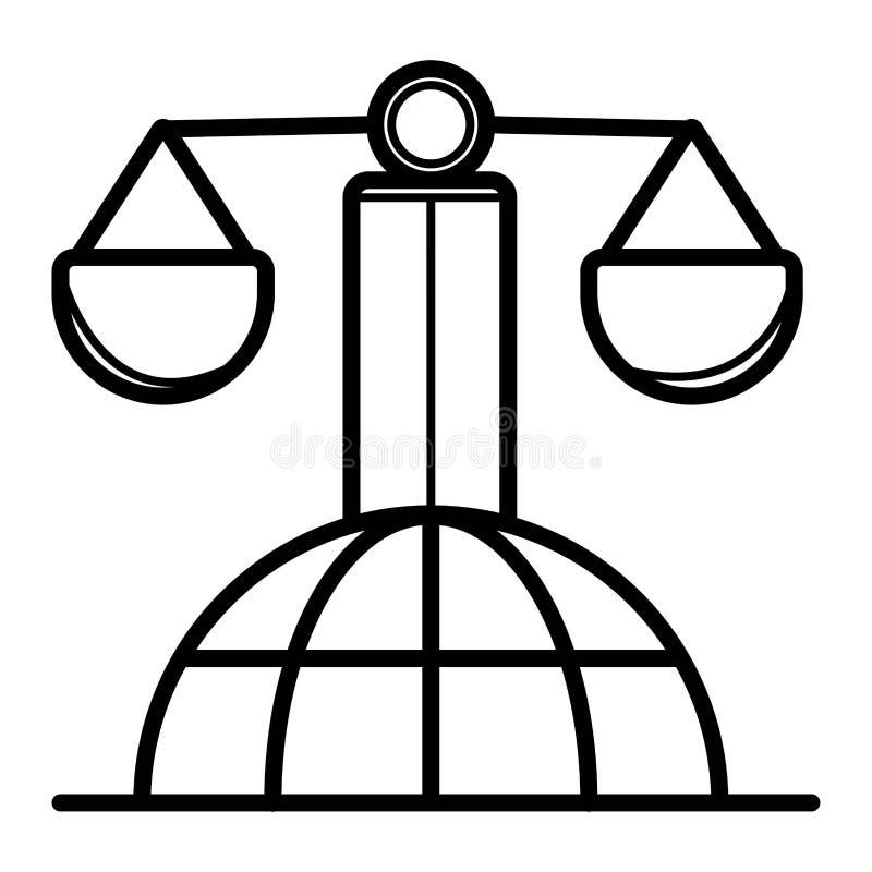 Graderar symbolsvektorn vektor illustrationer