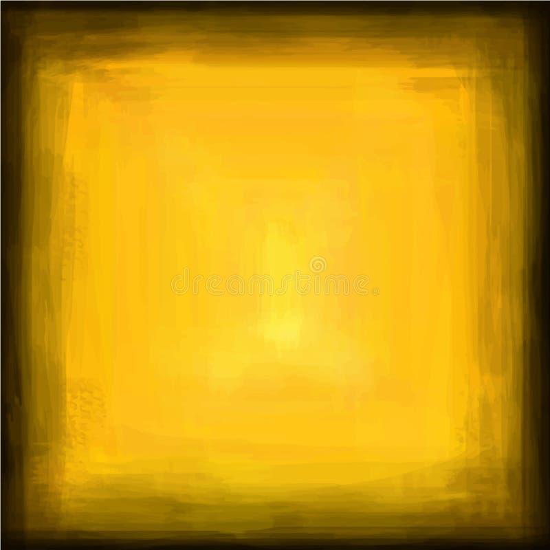 Graderingsvart som gulnar grov textur för bakgrund, illustrerade vektorbilden för rengöringsduk och tryck royaltyfri illustrationer