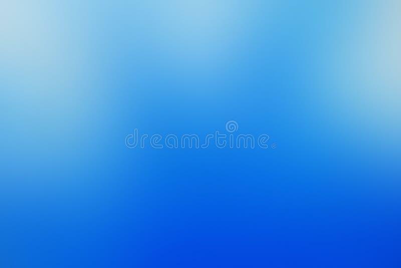 Gradiënt abstract blauw als achtergrond, hemel, ijs, inkt, met exemplaarruimte royalty-vrije stock afbeeldingen